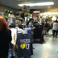 Photo taken at Culture Shock Clothing & Records by Britney L. on 3/31/2012