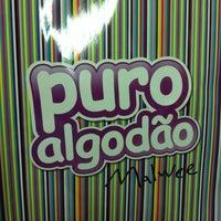 Photo taken at Puro Algodão Malwee by Rafael T. on 8/5/2011