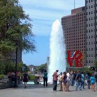 Photo taken at JFK Plaza / Love Park by J S. on 8/26/2012