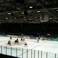 Photo taken at Eissporthalle Frankfurt by Maraike R. on 1/29/2012