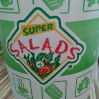 Photo taken at Super Salads by Rebeca M. on 8/18/2012