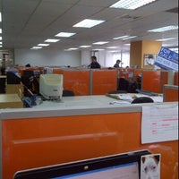 Photo taken at Colliers International Thailand by MeiLi on 1/20/2012