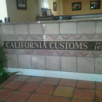 Photo taken at California Customs by Ronin T. on 9/6/2011