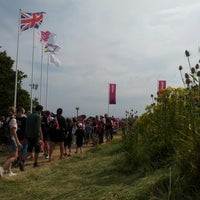 Photo taken at London 2012 venue - Hadleigh Farm by Mike W. on 8/12/2012