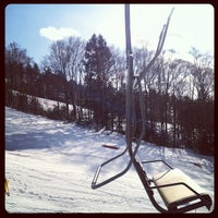 Photo taken at Cranmore Mountain Resort by laura f. on 1/29/2012