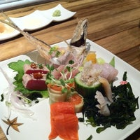 Photo taken at Bamboo Sushi by PDX P. on 10/27/2011