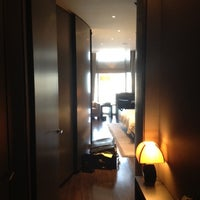 Photo taken at Armani Hotel Dubai by Humood Z. on 9/5/2012