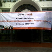 Photo taken at IPMI Business School by Jovan C. on 2/11/2012