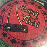 Photo taken at Swing Thai by Lisa on 4/8/2012