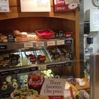 Photo taken at Bruegger's Bagels by Bill C. on 7/31/2012
