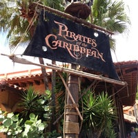 Photo taken at Pirates of the Caribbean by Raquel M. on 8/15/2012