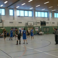 Photo taken at Universitätssporthalle by Nico D. on 9/8/2012