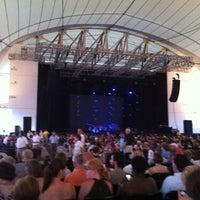 Photo taken at Blue Hills Bank Pavilion by Erinn S. on 7/2/2012