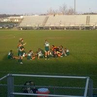 Photo taken at Ocean Lakes High School by Renee T. on 3/15/2012