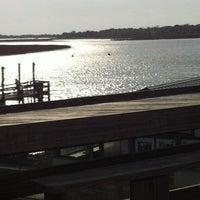 Photo taken at Bowen's Island Restaurant by Maggie G. on 4/5/2012