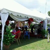 Photo taken at Padang Bola Binjai by Pe4RL I. on 9/9/2012