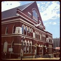 Photo taken at Ryman Auditorium by Josh V. on 4/25/2012