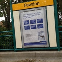 Photo taken at Fawdon Metro Station by Lueez B. on 7/26/2012