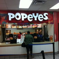 Hickam Food Court Popeyes