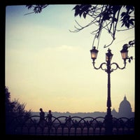 Photo taken at Villa Borghese by Kira on 3/1/2012