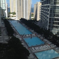 Photo taken at W Miami by Claudia K. on 5/30/2012