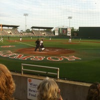 Photo taken at Doug Kingsmore Stadium by Frank G. on 5/15/2012