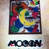 Photo taken at Mooon Café by Lady Ritz J. on 9/11/2012