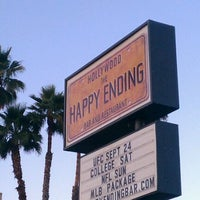 Photo taken at The Happy Ending Bar & Restaurant by Scott on 9/9/2011