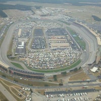 Photo taken at Atlanta Motor Speedway by Andrew M. on 9/4/2011