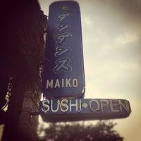 Photo taken at Maiko Sushi Lounge by Michael C. on 7/12/2012
