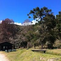 Photo taken at Horto Florestal de Campos do Jordão by Tadeu K. on 8/17/2012