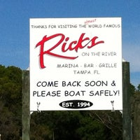 Photo taken at Rick's on the River by Kelly M. on 3/17/2012
