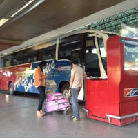 Photo taken at Airport Bus Service by Paulo Antônio M. on 8/10/2012