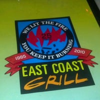 Photo taken at East Coast Grill & Raw Bar by Al S. on 5/12/2012