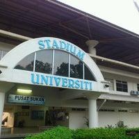 Photo taken at Stadium UKM by Terry Tan Sheng C. on 5/10/2012