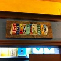 Photo taken at Gelato Bar by Valerie M. on 6/7/2012