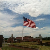 Photo taken at Fort McHenry National Monument and Historic Shrine by Anitra L. on 7/15/2012