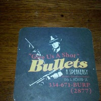 Photo taken at Bullets by Mitchell P. on 9/18/2011
