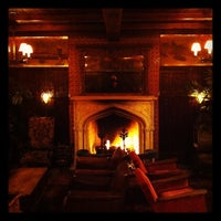 Photo taken at Bowery Hotel Lobby Bar by Damon C. on 10/14/2011