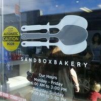 Photo taken at Sandbox Bakery by Thomas on 8/20/2011