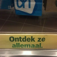 Photo taken at Albert Heijn by Karl D. on 6/23/2011