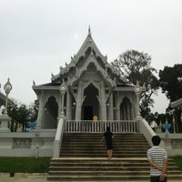 Photo taken at Wat Kaew Korawaram by Waralee P. on 7/30/2011