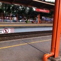 Photo taken at Stasiun Tanjung Barat by Panji Anom A. on 2/1/2012