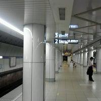 Photo taken at Hanzomon Line Kiyosumi-shirakawa Station (Z11) by 和彦 石. on 9/12/2012
