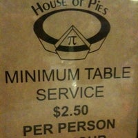 Photo taken at House of Pies by Robb K. on 1/1/2012