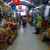 Photo taken at Ying Charoen Market by Nathasak J. on 8/11/2012