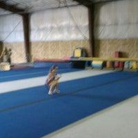 Photo taken at Flip Factory Gymnastics by John S. on 5/14/2011