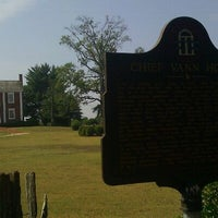 Photo taken at Vann House Historic Site by Blind Turtle on 8/19/2011