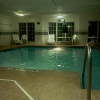 Photo taken at Microtel Inn by Amber G. on 1/6/2012