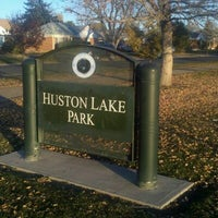 Photo taken at Huston Lake Park by Christopher G. on 11/10/2011